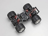 Kyohso Mini-Z Monster MM01 Chassis Set ASF 2.4GHz