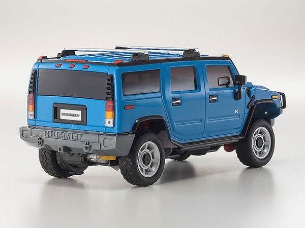 kyosho mini z overland sports mv 01s hummer h2 blue