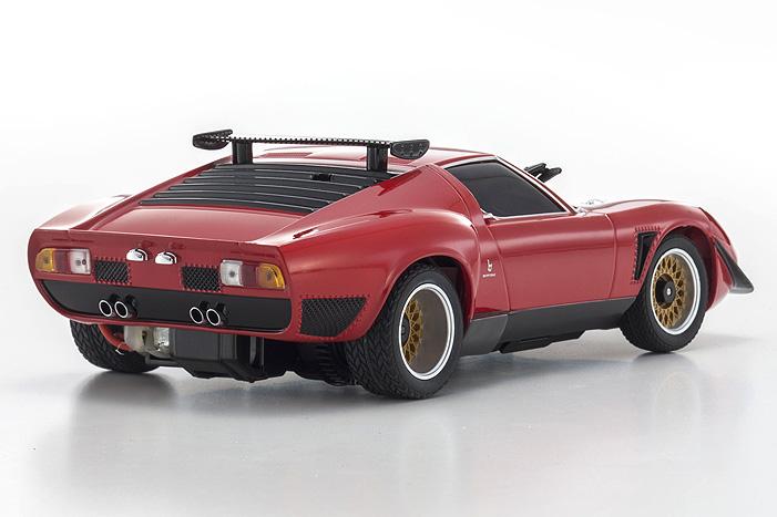 Kyosho Mini Z Asc Mr 03n Rm Lamborghini Jota Svr Red Body Set