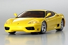 Kyosho dNaNo FX-101MM Ferrari 360 Modena Yellow Body Set