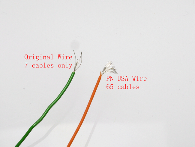 PN Racing Mini-Z Servo Wire (Orange/White/Green @1ft)