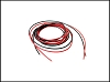 PN Racing 22AWG Silicon Power Connect Wire (Black 3ft Red 3ft)