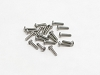 PN Racing M2x8 Button Head Stainless Steel Hex Machine Screw (20pcs)