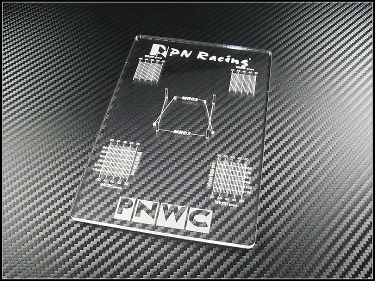 PN Racing Mini-Z MR02/MR03 V3 Setup Board