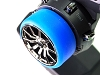 PN Racing Universal Transmitter Steering Wheel Grip (Blue)