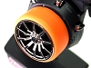 PN Racing Universal Transmitter Steering Wheel Grip (Orange)