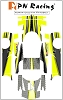 PN Racing Mini-Z Body Skin Ferrari ENZO FXX Type 3