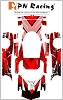 PN Racing Mini-Z Body Skin Ferrari ENZO FXX Type 6