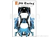 PN Racing Mini-Z Body Skin Lexus SC430 Type 5