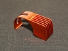 PN Racing Orange 6 Fins Motor Heatsink for 540 motor