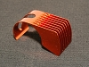 PN Racing Orange 8 Fins Motor Heatsink for 540 motor
