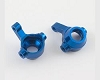 Hot Racing RC18T Blue alum. front steering knuckles