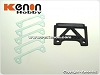 PN Racing Mini-Z Honda NSX 2007 JGTC Carbon Fiber Adapter