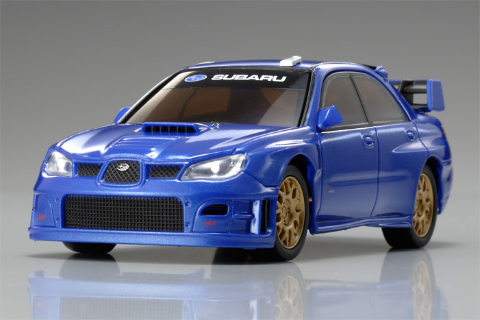 Kyosho Dnano Fx 101rm Subaru Impreza Wrc Metallic Blue
