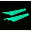 E-flite MCX Upper Main Blade Set,Glow in the Dark (1 pr)