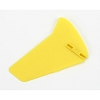 E-flite MCX Vertical Fin, Yellow w/o Decals
