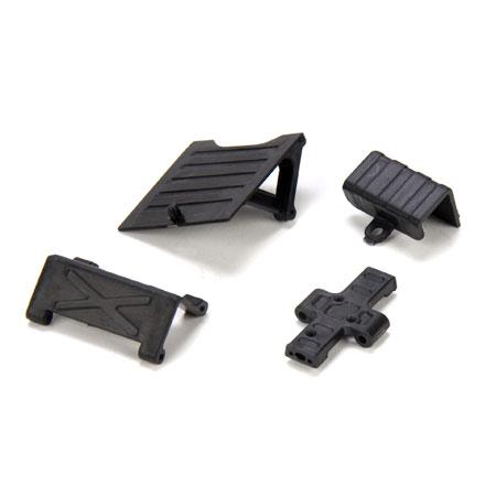 Team Losi 1/24 Micro Rock Crawler Skid Plate, Chassis ...