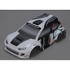 Team Losi 1/24 4WD Rally Painted Body, Gray