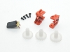 PN Racing MA010 Wheel Base Extension Kit (Orange)
