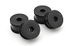Kyosho Mini-Z Buggy Wheel Set (Black) 4pcs
