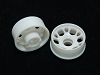 PN Racing Mini-Z MR015/MR02 White Front Wheel Rim +3 Offset (10pcs Combo)