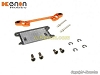 PN Racing Mini-Z MR03 Pro Front Lower Arm Set Wide (Orange)