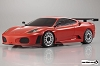 Kyosho Mini-Z MR02RM Ferrari F430 GT Test Car Body Set (Red)