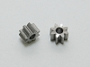 PN Slot Stainless Steel OD5.5 8T Pinion (2pcs)