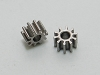 PN Slot Stainless Steel OD5.5 10T Pinion (2pcs)