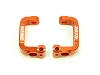 PN Racing ZX5 TF5 7075 Alum. Front C-Hub 7 Deg (Orange)