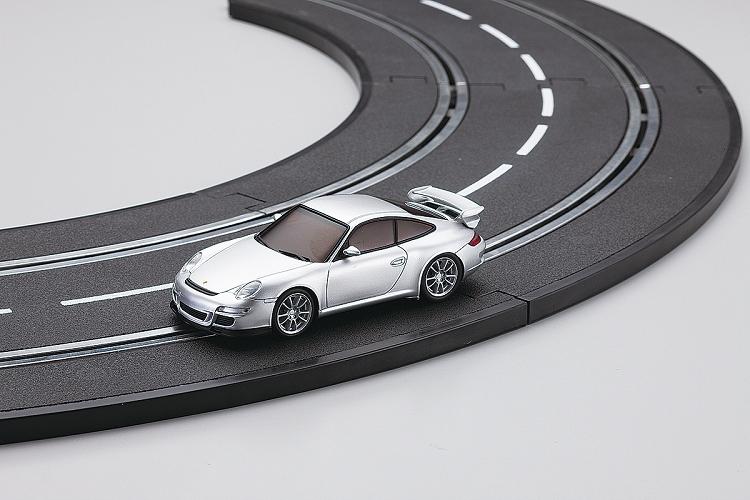 kyosho dslot43 porsche 911 gt3 silver. Black Bedroom Furniture Sets. Home Design Ideas