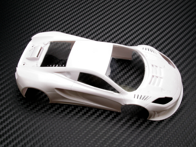 PN Racing Mini-Z Lexan Window McLaren 12C GT3 2013