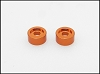PN Racing MR02/03 Disk Damper Screw Washer (Orange) 2pcs