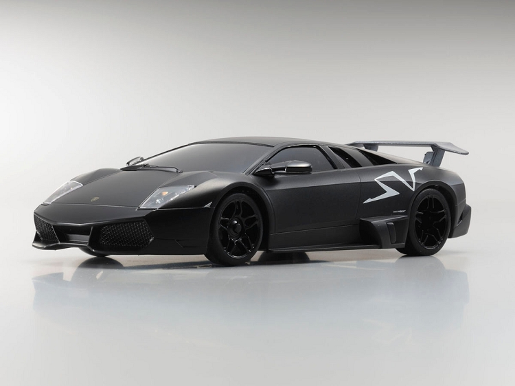 Kyosho Mini Z Mr03w Mm Lamborghini Murcielago Lp670 4 Sv Matt Black Body Set