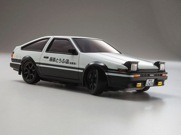 kyosho mini z awd toyota sprinter trueno ae86 initial d body set. Black Bedroom Furniture Sets. Home Design Ideas