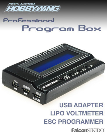 Hobbywing Multifunction LCD Professional Program Box