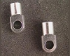Hot Racing Revo Silver aluminum shock ends