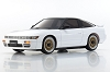 Kyosho Mini-Z ASC MA-020 NISSAN SILEIGHTY White/Black Roof Body Set