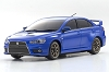 Kyosho Mini-Z ASC MA-020 MITSUBISHI LANCER EVOLUTION X Metallic Blue Body Set