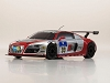 Kyosho Mini-Z MR-03S2 RS Audi R8 LMS Phoenix Racing NBR 2010 #99 Ready Set