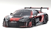 Kyosho Mini-Z ASC MR-03W-MM Audi R8 LMS 2016 Black/Red Body Set