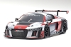 Kyosho Mini-Z ASC MR-03W-MM Audi R8 LMS 2016 Gray/Red Body Set