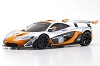 Kyosho Mini-Z MR03 RWD McLaren P1 GTR Silver/Orange MR-03 Ready Set