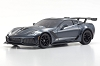 Kyosho Mini-Z ASC MR03WMM Chevrolet Corvette ZR1 Shadow Gray Metallic Body Set