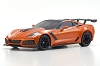 Kyosho Mini-Z ASC MR03WMM Chevrolet Corvette ZR1 Sebring Orange Body Set