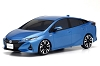 Kyosho Mini-Z ASC MA-03F Toyota Prius PHV Spirited Aqua Metallic Body Set