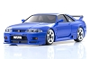 Kyosho Mini-Z ASC MA-020 NISSAN SKYLINE GT-R NISMO (R33) Blue Body Set