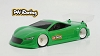 PN Racing AD4 1/28 Touring Lexan Body Kit (Light Weight Version)