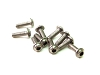 PN Racing M2x6 Titanium UFO Head Hex Machine Screw (10pcs)