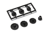 Kyosho Mini-Z FWD Pinion & Spur Gear Set